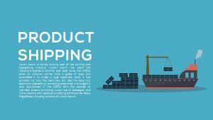 Product Shipping Metaphor Template for PowerPoint and Keynote