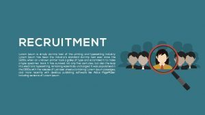 Recruitment PowerPoint Template and Metaphor Keynote Template