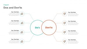 Dos and Don'ts PowerPoint Template and Keynote Slide