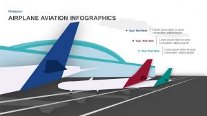 Airplane Infographics Aviation PowerPoint Template and Keynote