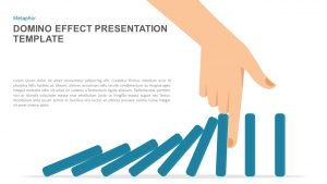 Domino Effect Presentation Template for PowerPoint and Keynote