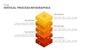 Infographic Vertical Process Template for PowerPoint and Keynote