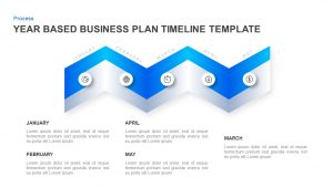 Year Based Business Plan Timeline Template for PowerPoint & Keynote