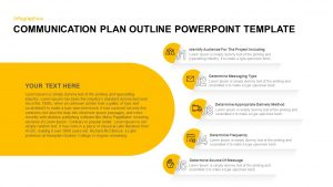 Communication Plan Outline PowerPoint Template